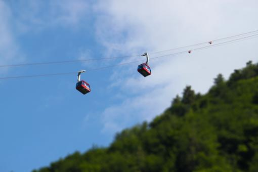 Free Stock Photo of Chairlift