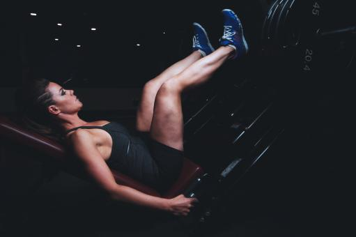 Free Stock Photo of In The Gym