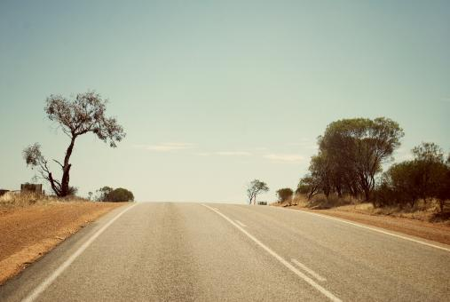 Free Stock Photo of Lonely Road