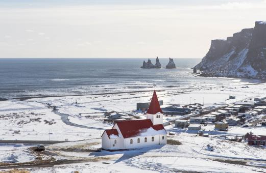 Free Stock Photo of Church in Iceland