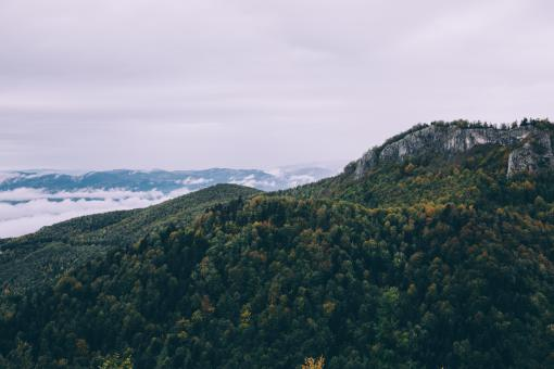 Free Stock Photo of Green Mountain