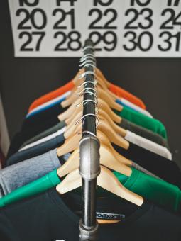 Free Stock Photo of Shop Hangers