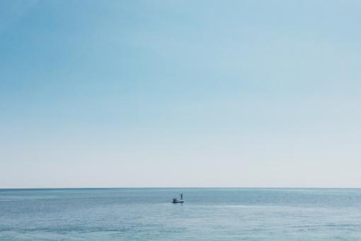 Free Stock Photo of Fishing in the vast ocean