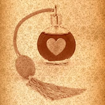 Free Stock Photo of Vintage Love Potion