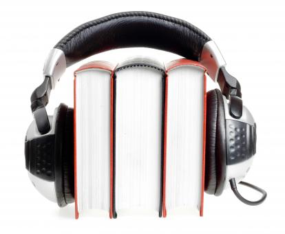 Free Stock Photo of Audio book concept