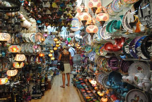 Free Stock Photo of Small market in Grand Bazaar