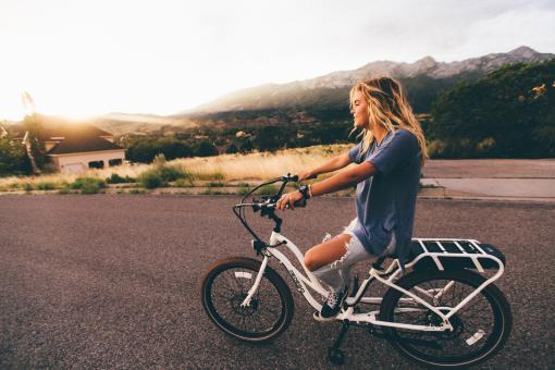 Free Stock Photo of The Bike Ride