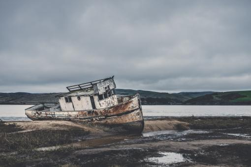 Free Stock Photo of Rusting