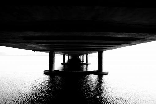 Free Stock Photo of Under The Pier