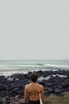 Free Stock Photo of Surfer