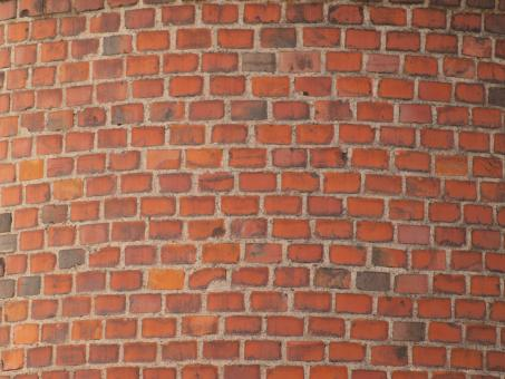 Free Stock Photo of Tiled Brick Texture