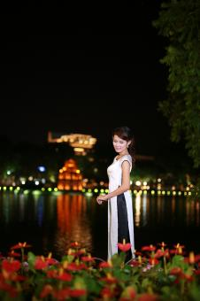 Free Stock Photo of Aodai
