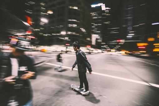 Free Stock Photo of Skating