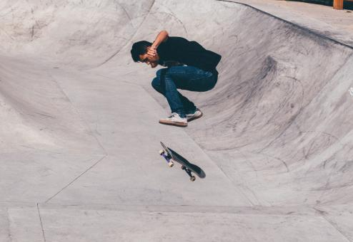 Free Stock Photo of Skater