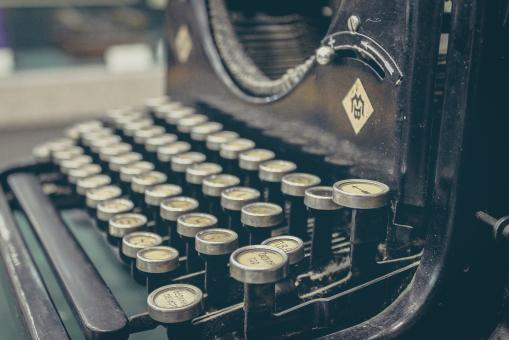 Free Stock Photo of Typewriter