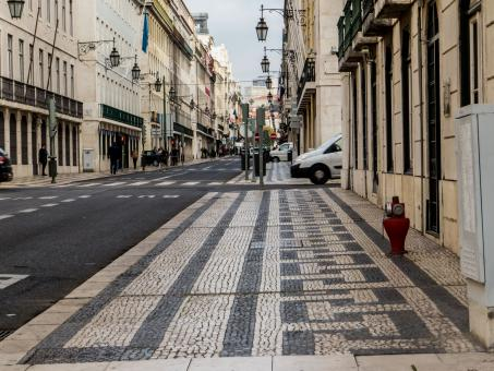 Free Stock Photo of Streets of Lisbon