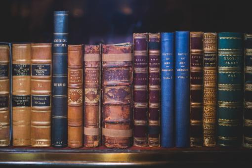 Free Stock Photo of Old Books