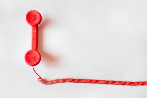 Free Stock Photo of Red Phone