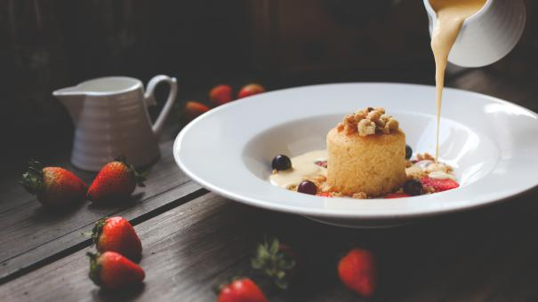 Free Stock Photo of Sweet Dish
