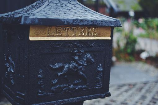 Free Stock Photo of Letter box