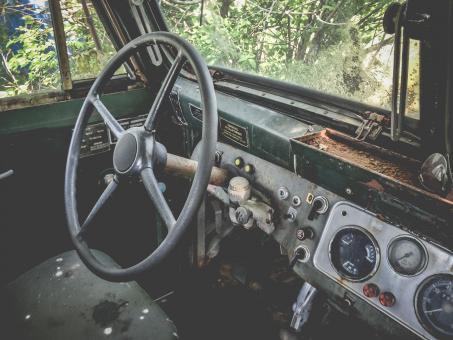Free Stock Photo of Old Van