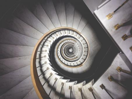 Free Stock Photo of Round Stairs