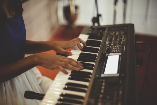 Free Stock Photo of Electric Piano