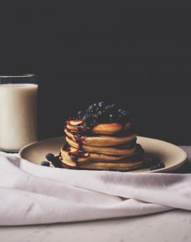 Free Stock Photo of Sweet Pancakes