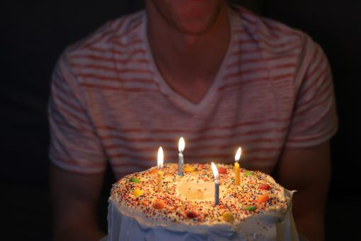 Free Stock Photo of Birthday Cake