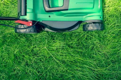 Free Stock Photo of Grass Cutting Machine