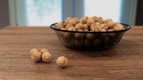 Free Stock Photo of Walnuts