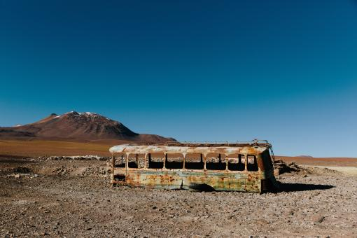 Free Stock Photo of Old Bus