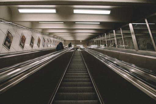 Free Stock Photo of Escalators