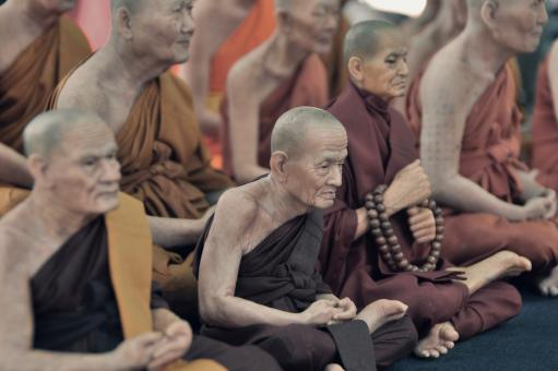 Free Stock Photo of Monks