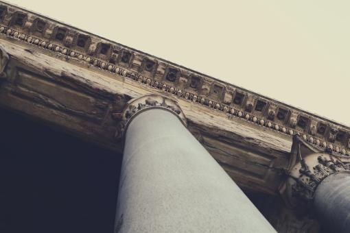 Free Stock Photo of Roman Column