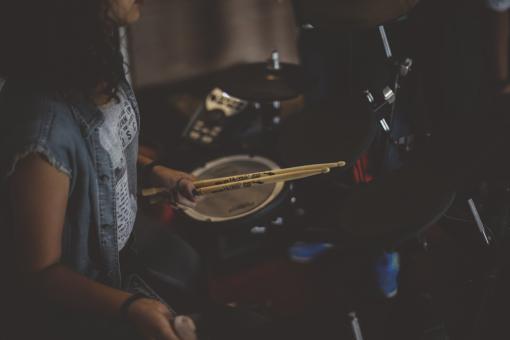 Free Stock Photo of Drummer