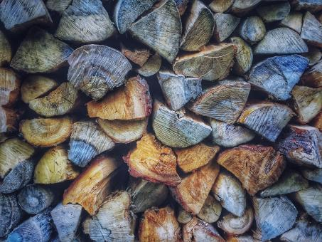 Free Stock Photo of Wood Logs