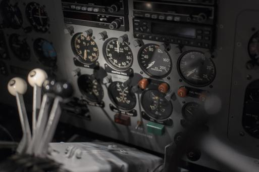 Free Stock Photo of Flight Deck Interior