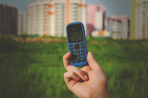 Free Stock Photo of The Mobile Phone