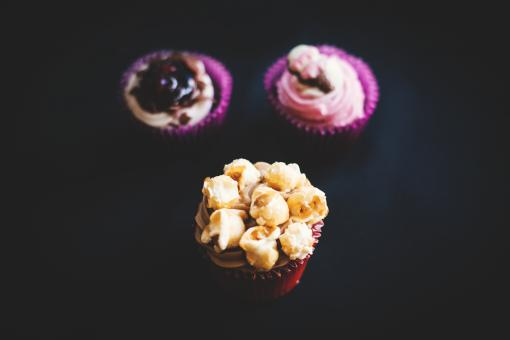 Free Stock Photo of Cup Cakes