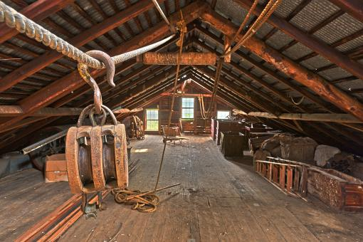 Free Stock Photo of Waterside Woolen Mill - HDR