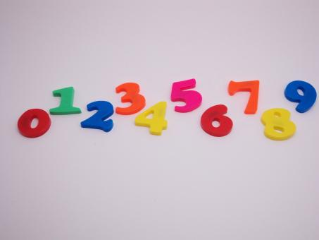 Free Stock Photo of Toy Numbers