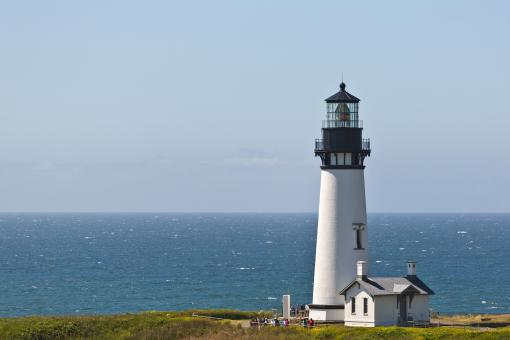 Free Stock Photo of Yaquina Head Lighthouse