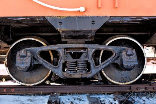 Free Stock Photo of Train Wheel