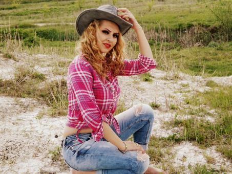 Free Stock Photo of Cowgirl