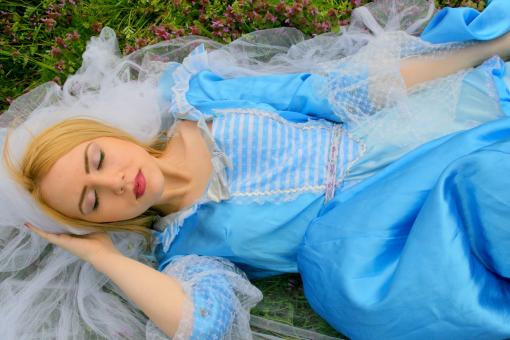 Free Stock Photo of Sleeping Beauty