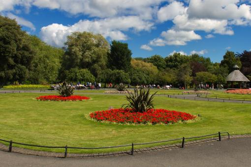 Free Stock Photo of Saint Stephen's Green