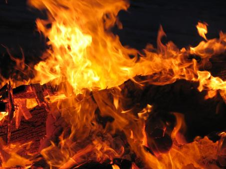 Free Stock Photo of Burning