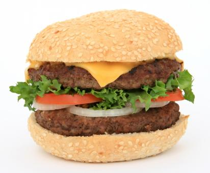 Free Stock Photo of Burger