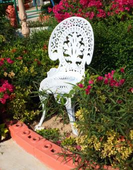 Free Stock Photo of English Garden Chair